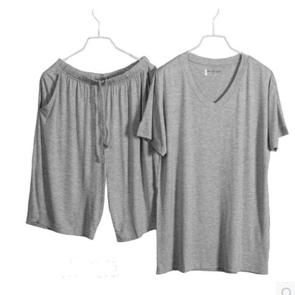 Mens T-Shirt & Shorts Sleepwear