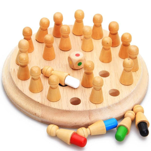 Montessori Wooden Memory Educational Game