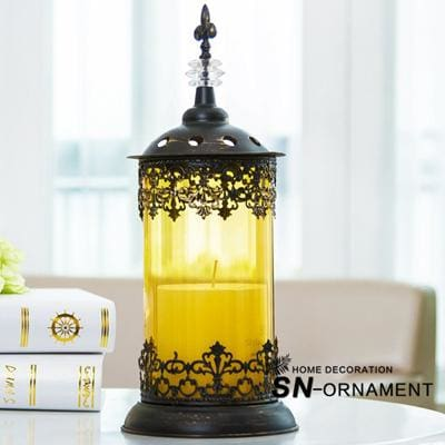 Morocco Style Wrought Iron Candle Holder – Modern Market Online