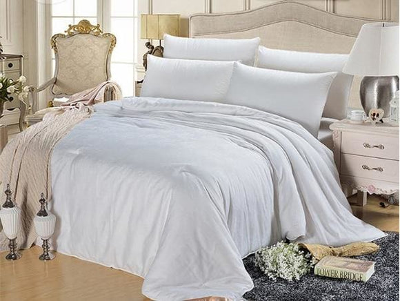 Mulberry Silk Duvet - 150X200CM / 1500G Summer Quilt / White