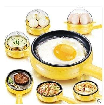 Multi-Functional Egg Omelette Pancakes Non-Stick Electric Fryer & Steamer