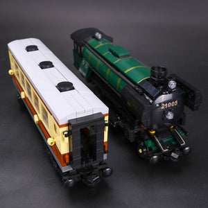 Night Train Building Blocks Set