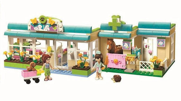 Pet Hospital Building Blocks Sets