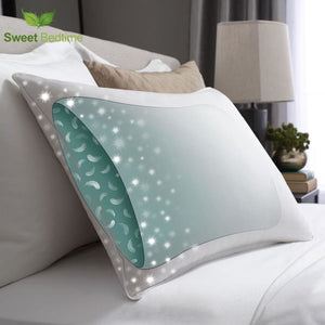 Pillow In A Pillow Design - White / 48X74Cm