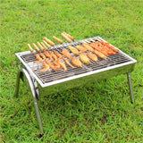 Portable BBQ Grill and Tools