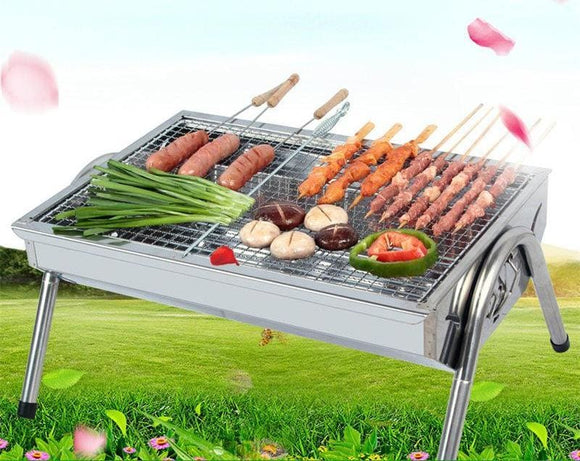 Portable BBQ Grill and Tools - SET 1