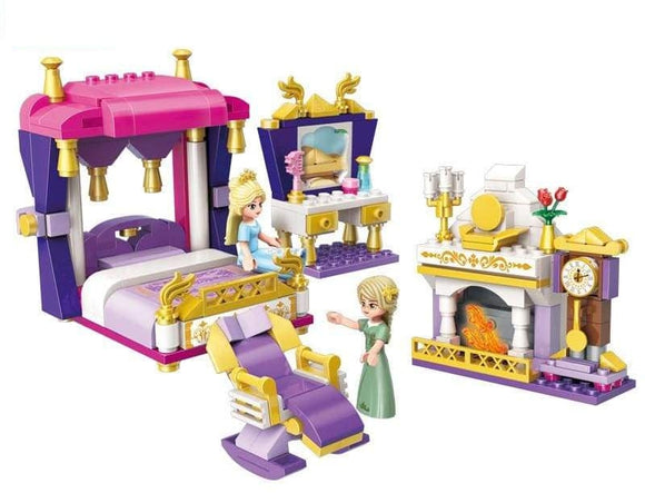 Princess Bedchamber With Queen And Princess Building Blocks Set