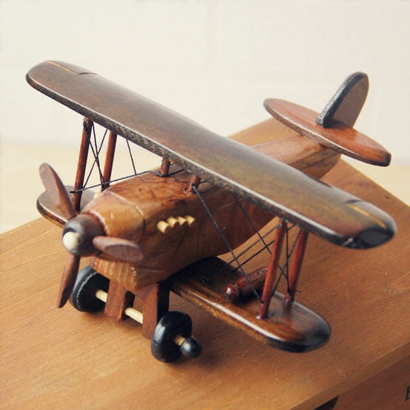 Wooden Handmade Aircraft Model