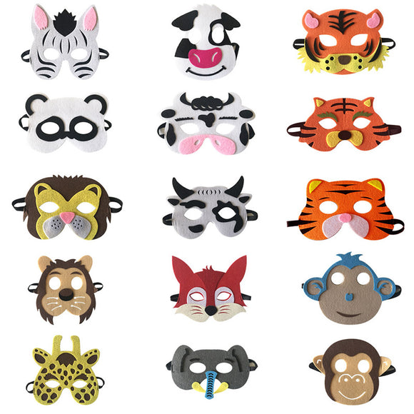 Children Animal Cloth Mask