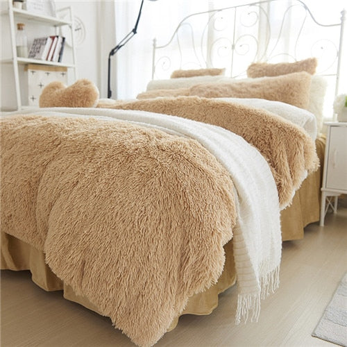 Cashmere Fleece Comforter Set