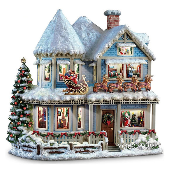 Christmas House DIY 5D Diamond Mosaic Craft Kit
