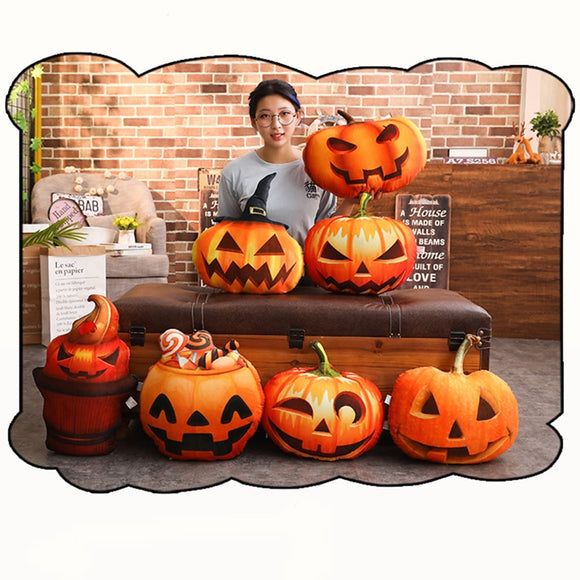 Halloween Pumpkin Cushion