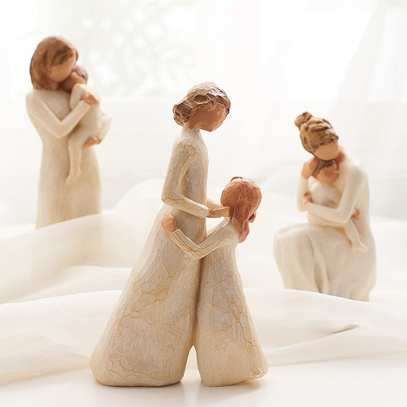 Parent and Children Full of Love Figurines