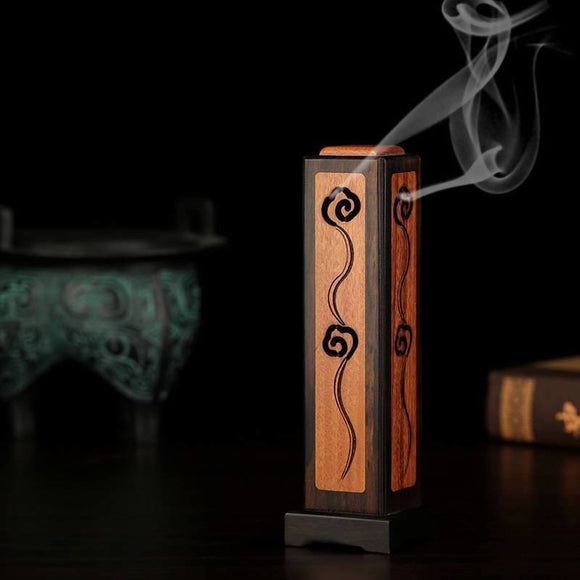 Purple Sandalwood Stick Incense Burner Sculpture