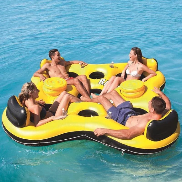 Relaxing Adult Inflatable Island For Pool