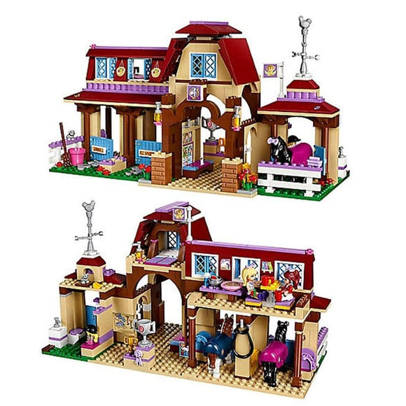 Riding Club Stables Building Block Set