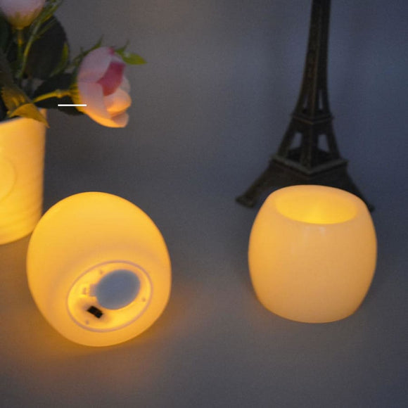 Round Ball Flameless LED Candle