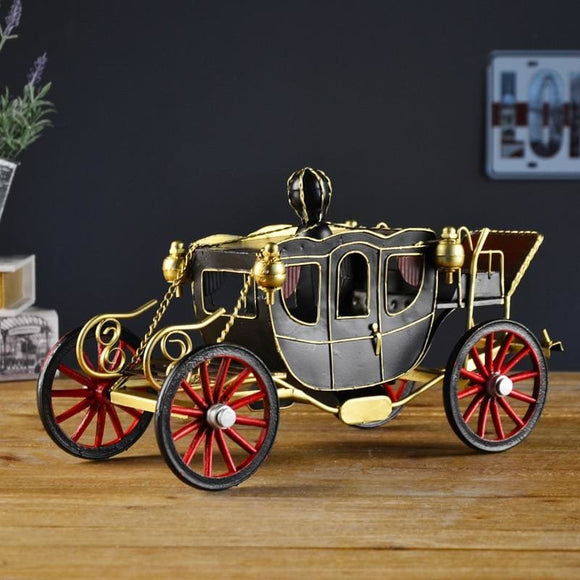Royal Metal Art Princess Carriage