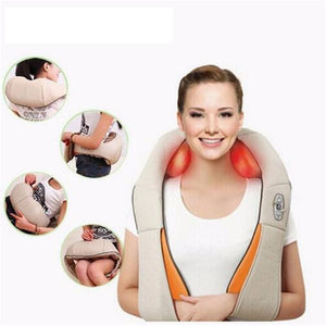 Shiatsu U Shape Electrical Back Neck Shoulder Massage - 110V / Flat plug