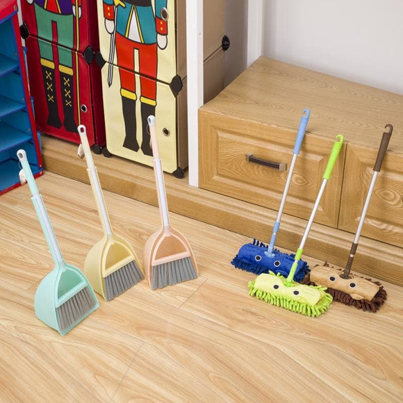 Small Children Mop and Broom
