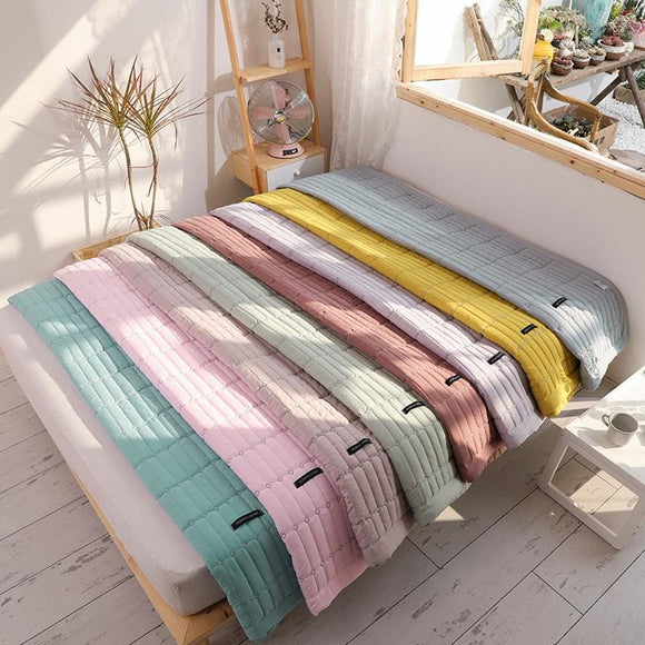 Soft Solid Macaroon Color Summer Quilts