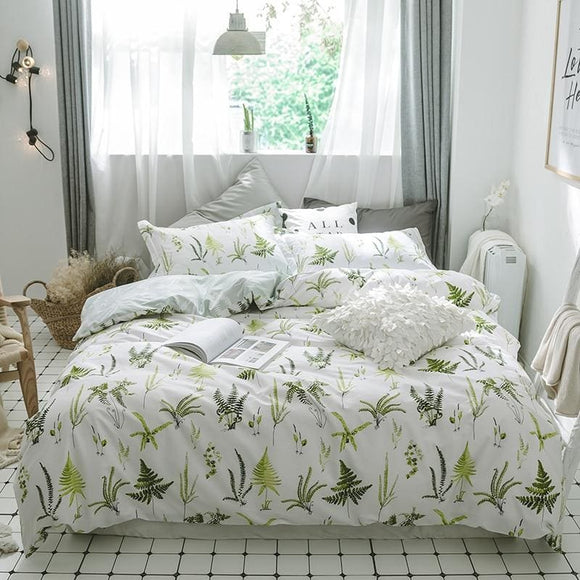 Spring Style Four Piece Duvet Bedding Sets