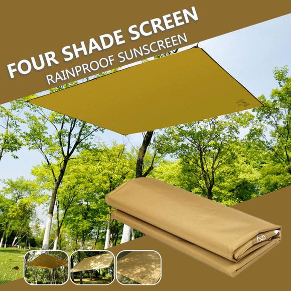 Square Awning Shade Screen