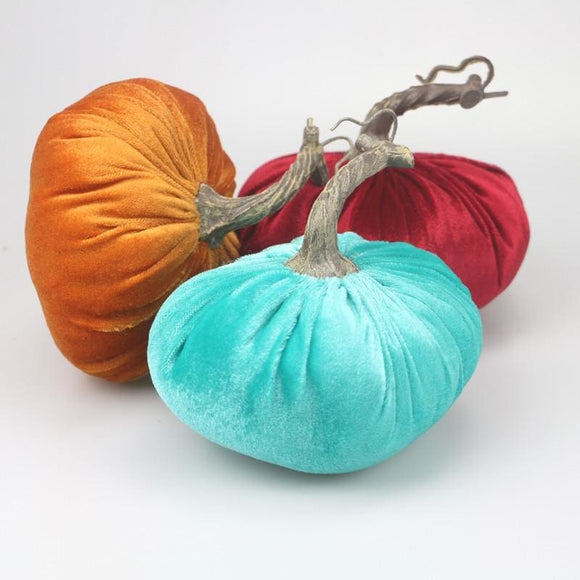 Stuffed Pumpkin Soft Decoration