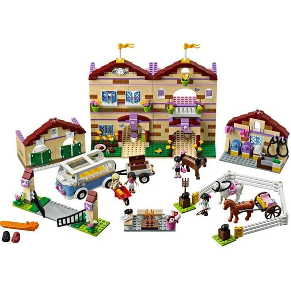 Summer Riding Camp Building Blocks Set