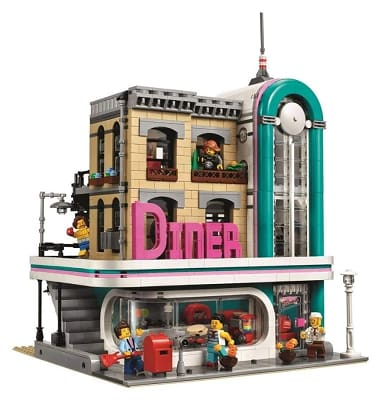 The Downtown Diner Building Blocks Set