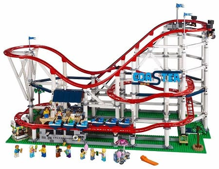 The Roller Coaster Building Blocks Set
