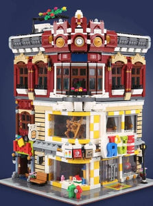 The Toy and Bookstore Building Blocks Set