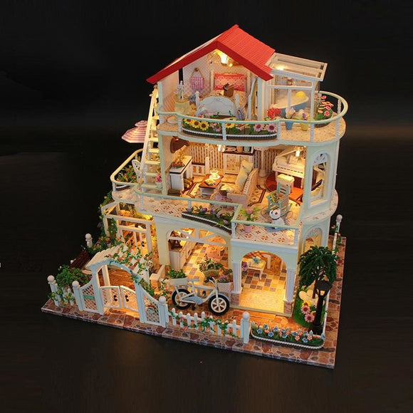 The Villa Diy Miniature Doll House