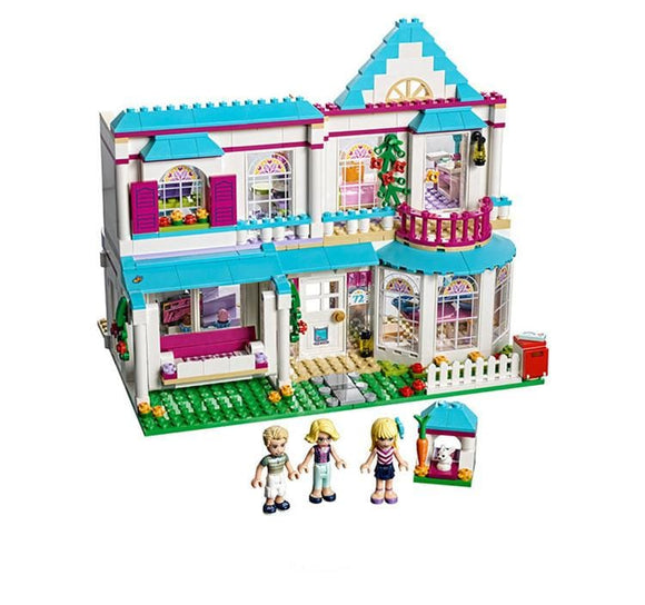 Town House Building Blocks Set