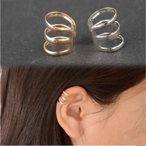 Triple Bar Ear Cuff