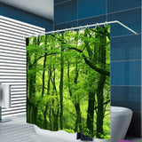 Tropical Rain Forest 3D Shower Curtain