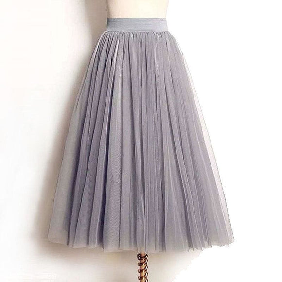 Tulle Mesh Skirt - T2 / One Size