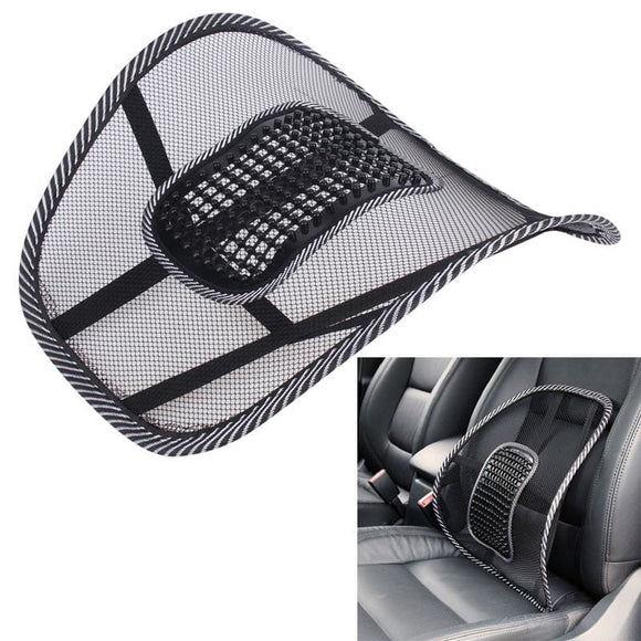 Universal Car Black Ventilate Lumbar Support - Car