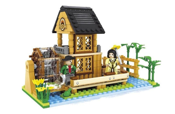 Water Mill Farm Building Blocks Set