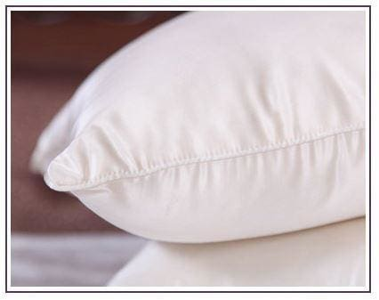 White Mulberry Silk Pillow - 1000 Grams Silk / 51 X 81 Cm