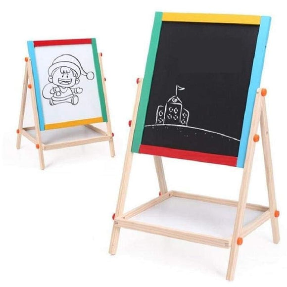 Wooden 2 In 1 Drawing Board