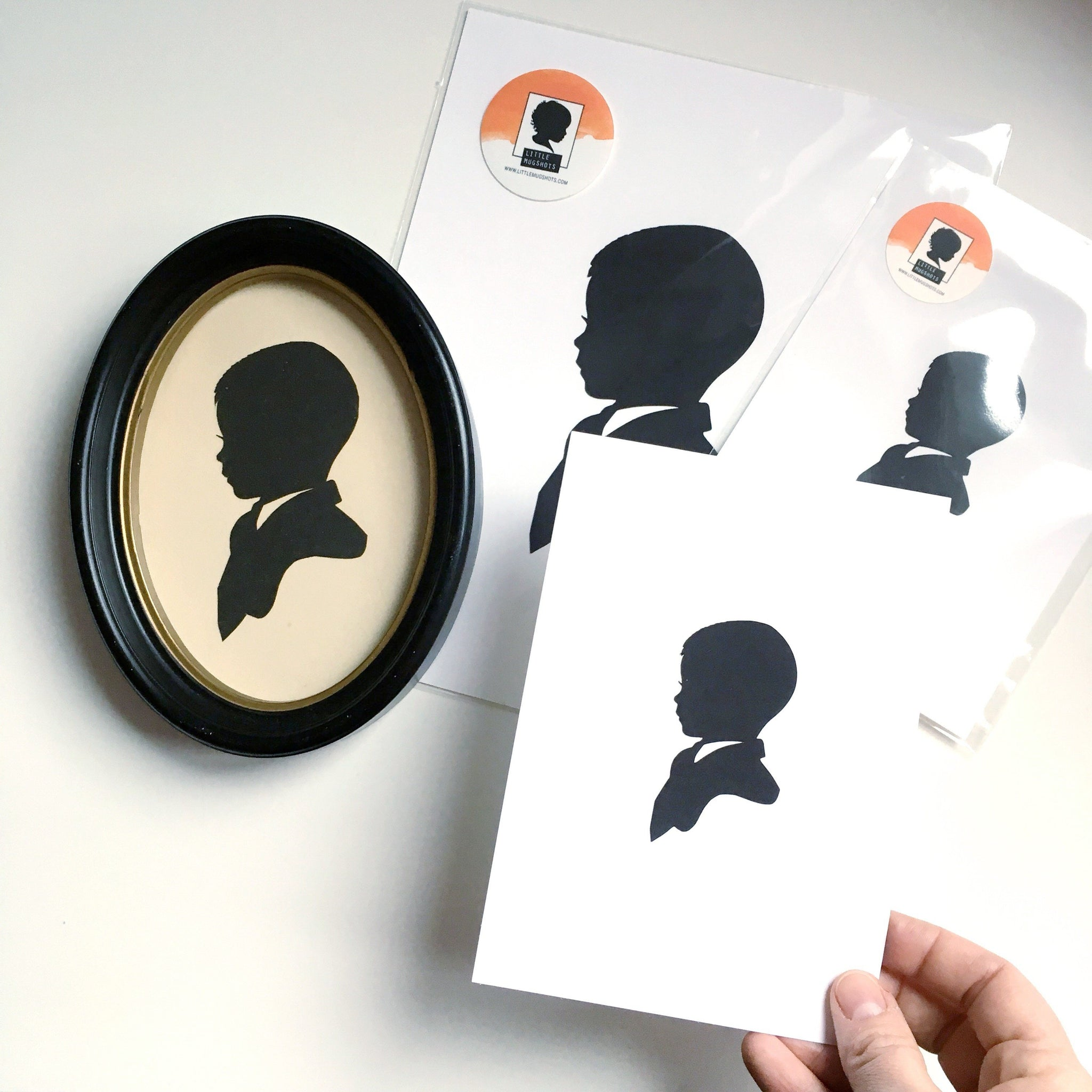 Vintage Silhouette Reproduction