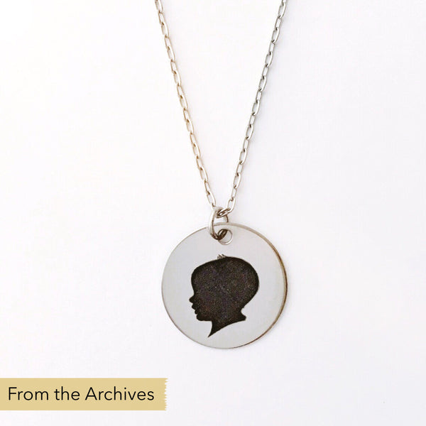 FROM THE ARCHIVES Silhouette Necklace