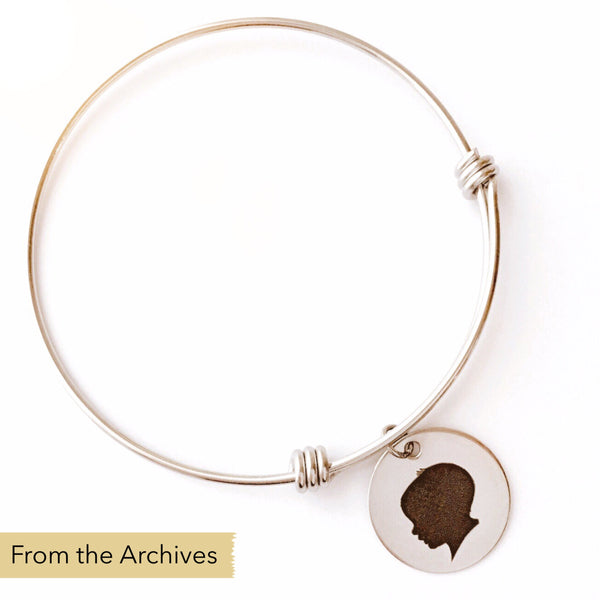 FROM THE ARCHIVES Silhouette Expandable Bangle