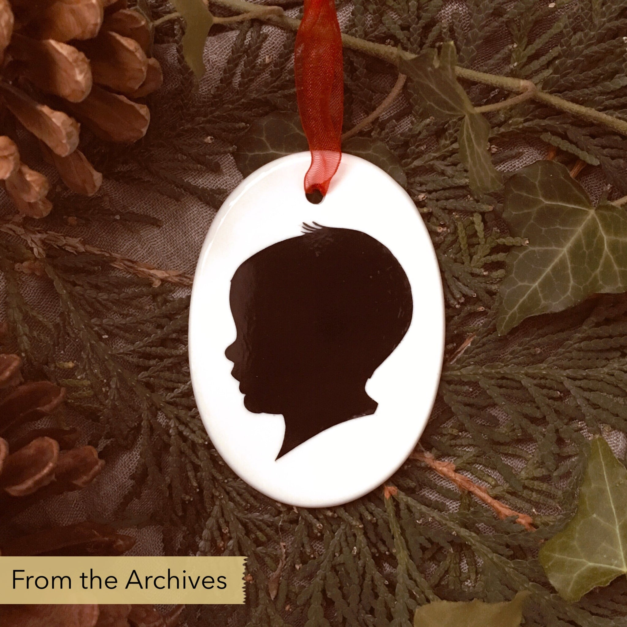 FROM THE ARCHIVES Silhouette Ornament