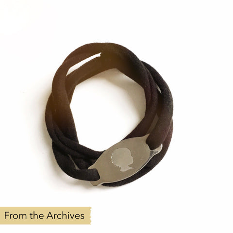 FROM THE ARCHIVES Silhouette Wrap Bracelet (one portrait)