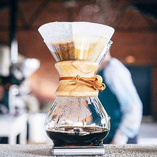 Chemex Classic Series, Pour-over Glass Coffeemaker, 8-Cup - Exclusive Packaging
