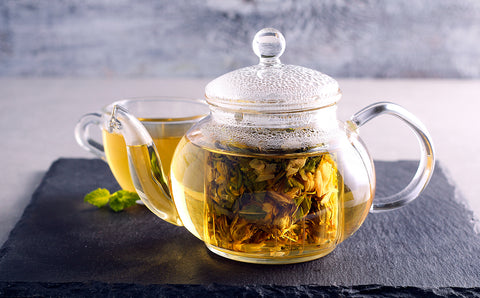 equipment to prepare delicious herbal teas