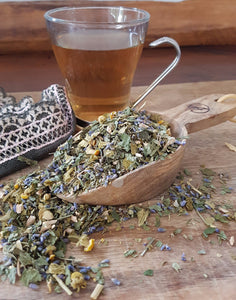 A herbal tea to help you wind down and relax to enjoy a great nights sleep that is a non-addictive.