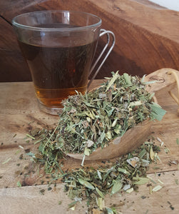 Boneset is a nutritive herbal tea that has a nurturing effect on the body due to its concentrated source of vitamins and minerals.